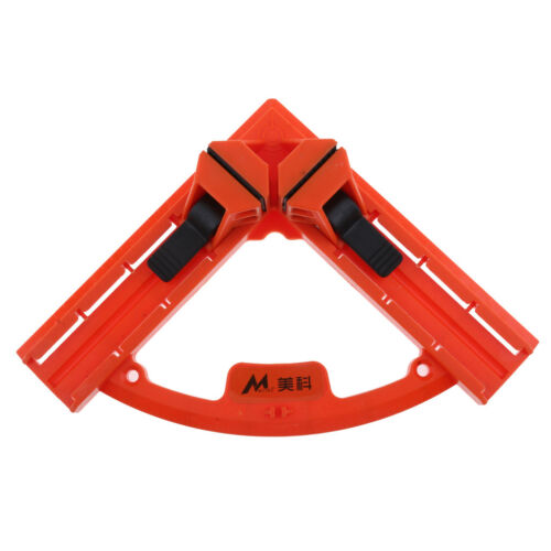 90 Degree Right Angle Clip Clamps Corner Holder Woodworking Tool Clamp Vice