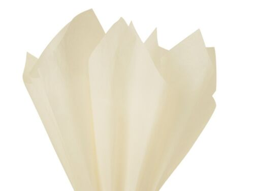 Luxury Tissue Paper 18GMS Acid Free 50 Large Sheets 50x75cms Select Colours
