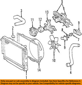 toyota oem 00 04 tundra engine cooling radiator fan clutch rh ebay com