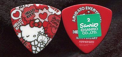 HELLO KITTY Authentic Sanrio Guitar Pick!! trademark #3