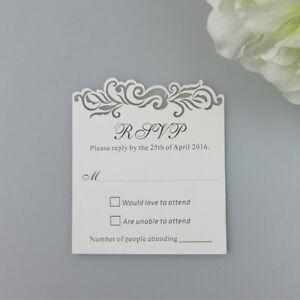 50pcs-Personalized-Damask-Wedding-Invitation-RSVP-cards-Free-Design-Printed