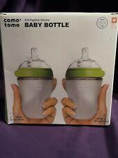 Green 8 Oz 2 Pack by Comotomo 250 Ml Comotomo Baby Bottle