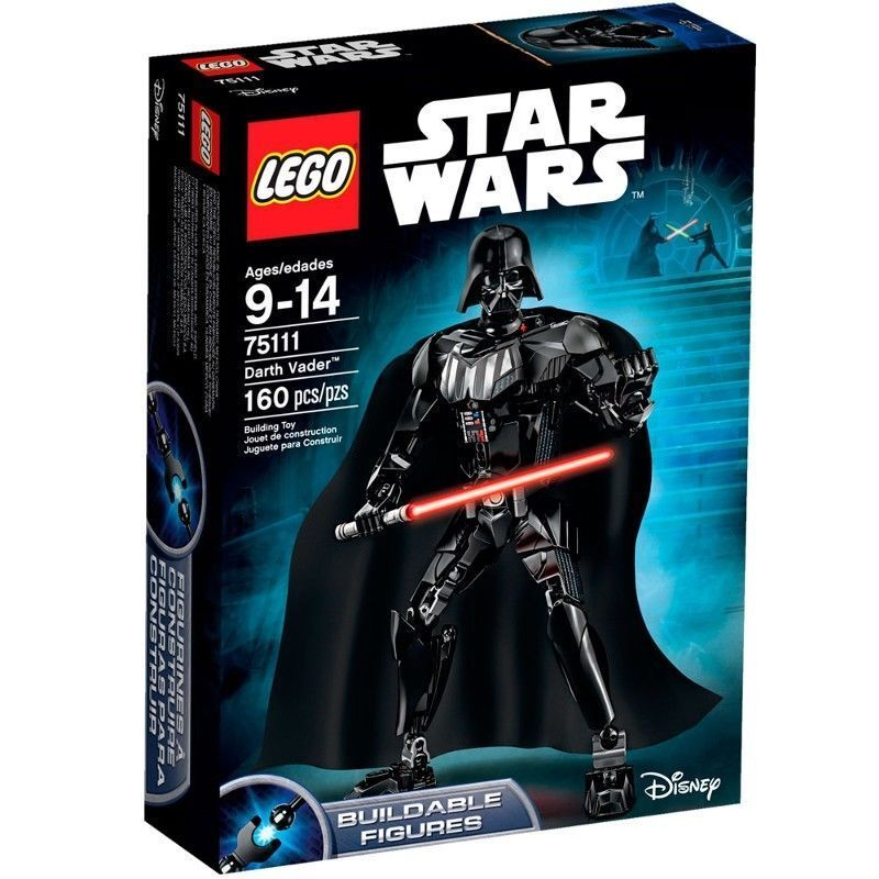75111 DARTH VADER buildable figure star wars lego NEW sealed legos set