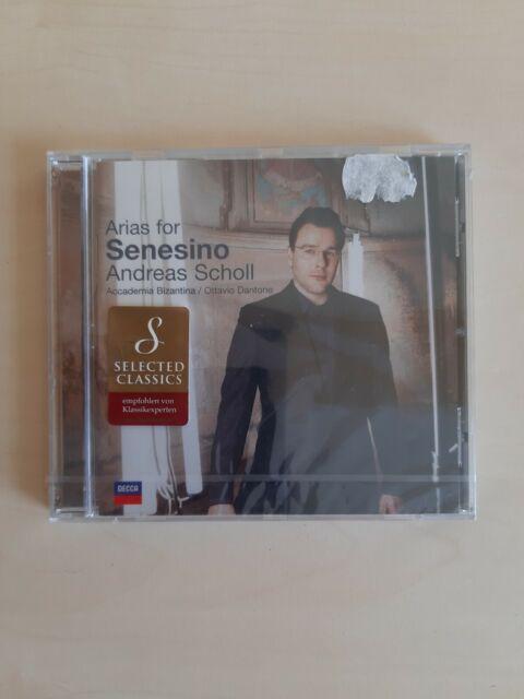 Arias For Senesino von Accademia Bizantina,Ottavio Dantone,Andreas Scholl (2005)
