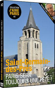 DVD Documentaire, SAINT-GERMAIN-DES-PRÉS, Paris sera toujours une fête !