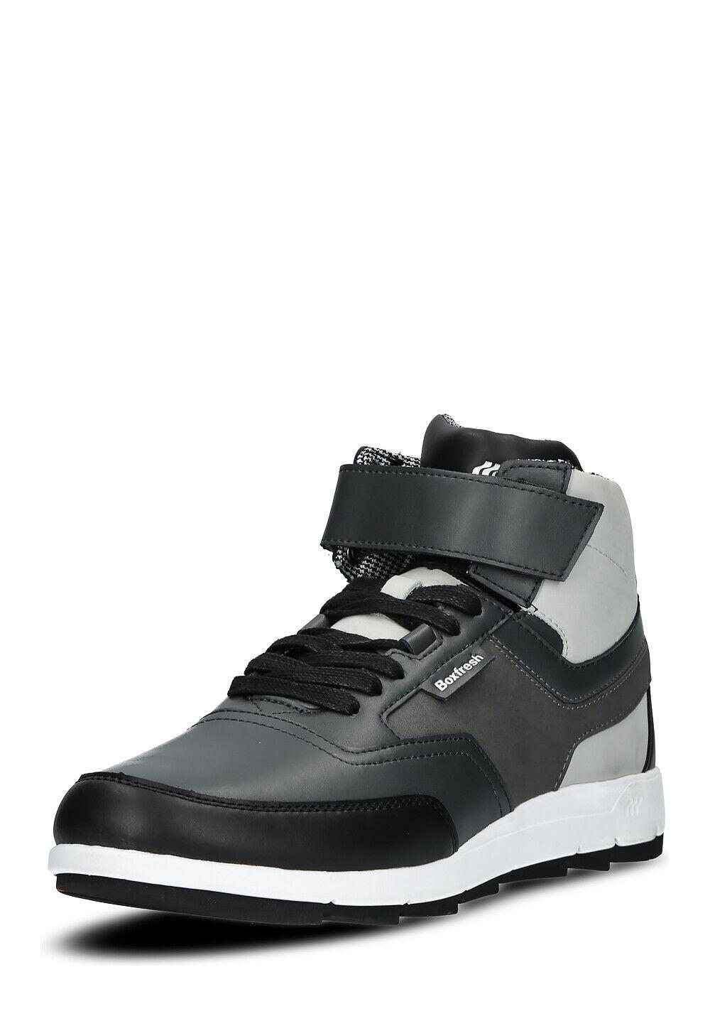 Boxfresh Herren Schuhe Turnschuhe echtem Leder Größe 42 43