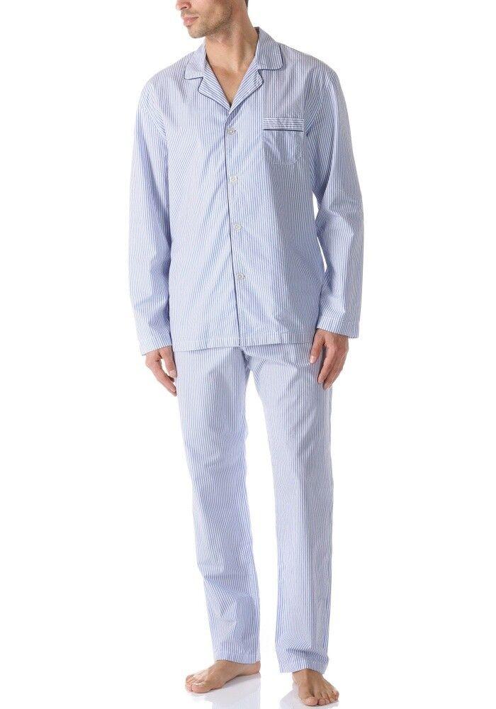 Mey Club Pedaso Herren Schlafanzug lang Pyjama Herren 47983