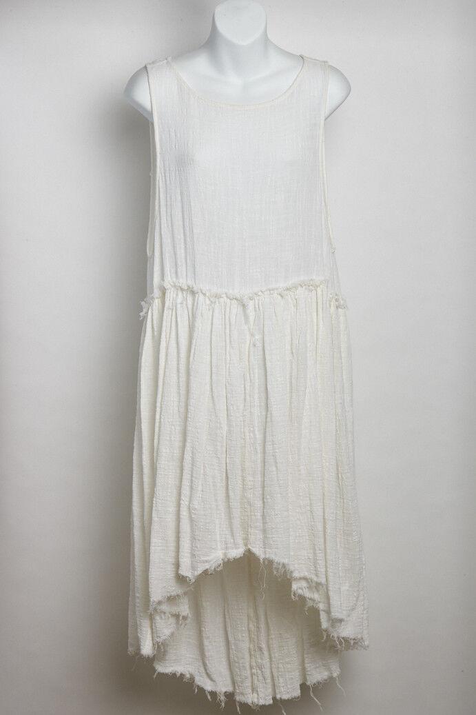 NWT Free People White Cotton Dress Small