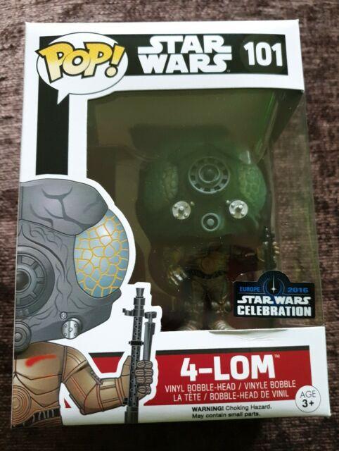 Star Wars-Luke ceremony VINILE FIGURE BOBBLE HEAD 10cm SW-selebratio Funko Pop
