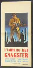 LOCANDINA, L'IMPERO DEI GANGSTER Hoodlum Empire KANE, DONLEY, FILM NOIR, POSTER