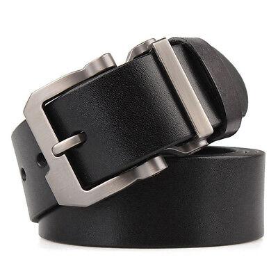 """Luxury Designer Belts for Jeans Genuine Leather Mens Belt Big& Tall Size 30""""-63"""""""