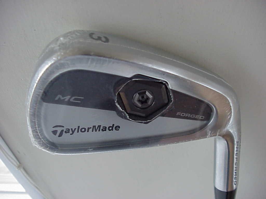 Nuevo Taylor Made  (Tour Preferrojo) Cilindro De Hierro Forjado 3 Tp Mater D G S-300 Acero rígido  tienda hace compras y ventas