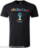 Romero Britto X Fifa World Cup Brazil 2014 Argentina Ltd. Ed. T-shirt 22/25 S