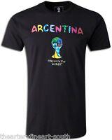 Romero Britto X Fifa World Cup Brazil 2014 Argentina Ltd. Ed. T-shirt 22/25 S