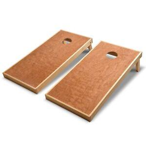 Astounding Details About Gosports Full Regulation Size 4X2 Bean Bag Toss Boards Set Cherry Wood Boards Theyellowbook Wood Chair Design Ideas Theyellowbookinfo