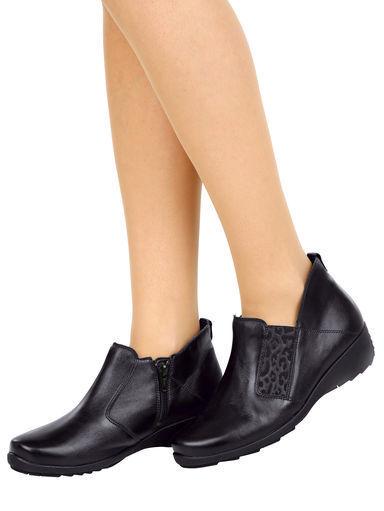 Zapatos señora zapatos cuero botas botín de cuero zapatos bosque alfil (40,5) ancho H 90dc3f