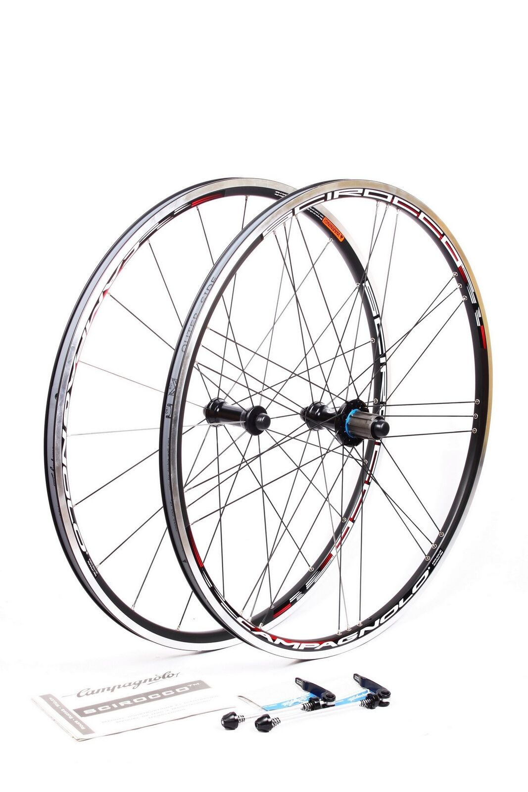 Campagnolo Scirocco Road Bicycle Bike 700C Wheelset Clincher Wheels for Shimano