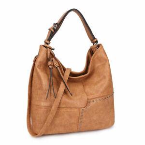 Dasein-Womens-Handbags-Soft-Faux-Leather-Hobo-Shoulder-Crossbody-Bag-Purses