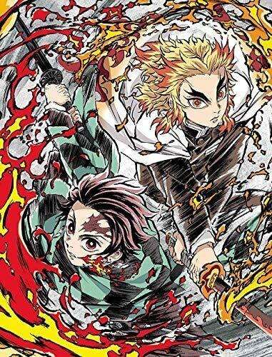 Kimetsu no Yaiba The Movie Infinite Train Edition Blu-ray japanese