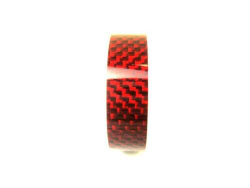 Bike Bicycle Headset Stem RED Carbon Spacer 28.6 x 10mm