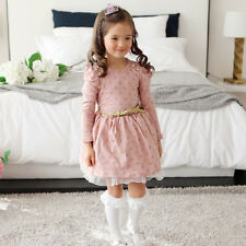 5ec89ac58bb1 item 6 Toddler Kids Baby Girls Winter Skater Dress Long Sleeve Party Tutu  Dresses Skirt -Toddler Kids Baby Girls Winter Skater Dress Long Sleeve  Party Tutu ...