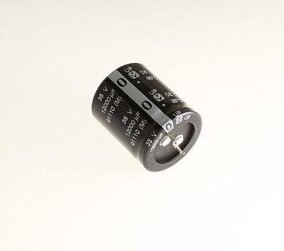 1 Piece 12000uF 12000mfd 80V Electrolytic Capacitor 105 degrees USA FREE SHIP