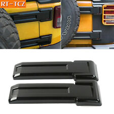 Black Tailgate Hinge Trim Covers Fit For Jeep Wrangler Jk 07 Unlimited Parts Fits Jeep Wrangler Unlimited