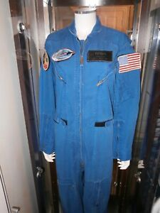 Astronauta-Volante-Suit-Columbia-Spazio-Shuttle-Sts-4-Worn-By-Jerry-Ross-Full