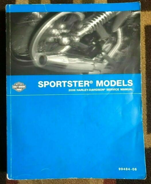 2006 Harley Davidson Sportster Model Oem Service Manual
