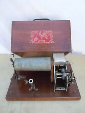 Phonographe a cylindre Je chante haut et clair gramophone phono pavillon 1900