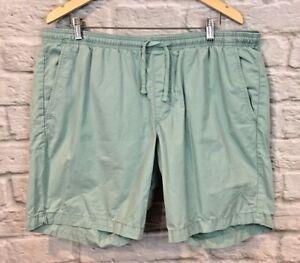 GAP-Mens-Cotton-Draw-String-Jogger-Shorts-In-Green-Tea-Size-XL