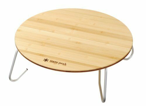 Snow Peak one action Table in bamboo S LV070T