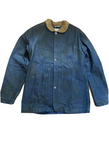 Iron & Resin Denim Chore Coat - XL