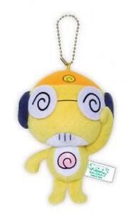 Sergeant-Frog-4-039-039-Kululu-Prize-Plush-Key-Chain-NEW