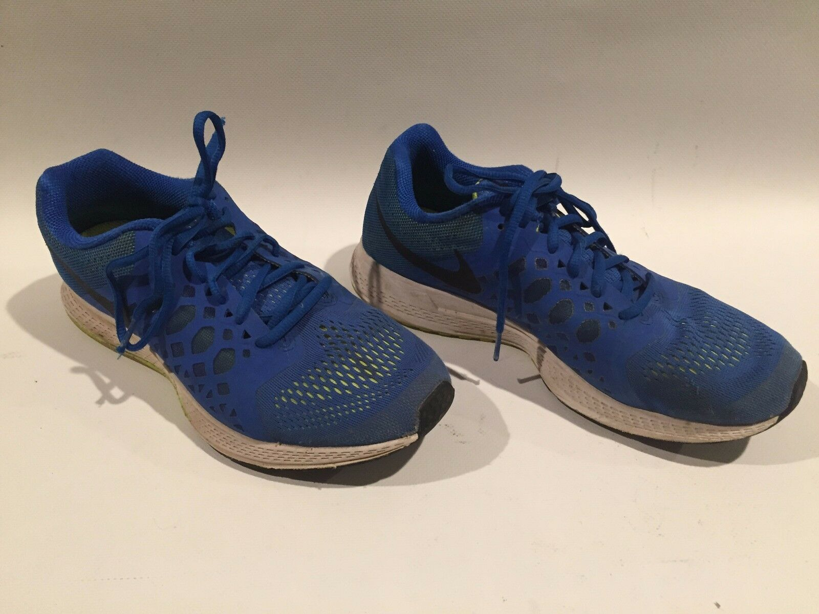 Nike Zoom Pegasus 31 Blue/Yellow Running Athletic Shoes Comfortable