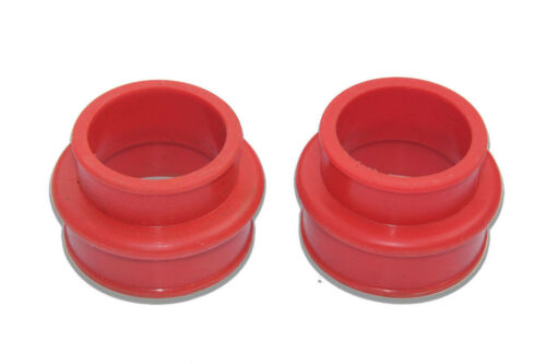 VW TYPE 1 BUG BUS GHIA SUPER BEETLE DUAL PORT INTAKE MANIFOLD BOOTS RED SILICONE