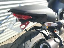 Ducati Monster license plate tail kit- mount, relocation, chop, cleanup