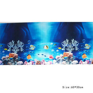Bequem ?l-Papier Aquarium Landschaft Plakat Fisch Tank Hintergrund ...