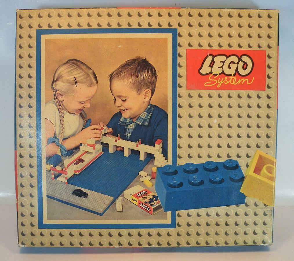 Lego System 700 5 Ancient Basic Box in Box from the 60er years  382