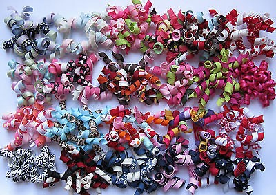 Gymboree Your Choice of Curly Curlies Barrettes Pairs NEW Peruvian Floral Sweet