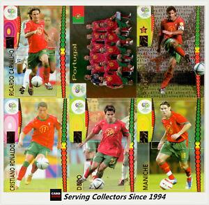 Panini 2006 Germany World Cup Soccer Trading Card Team Set Portugal 7 8018190027426 Ebay