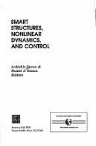 Smart Structures, Nonlinear Dynamics and Control Hardcover Ardbeshir Guran