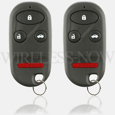 2 Replacement For 1998 1999 2000 2001 2002 Honda Accord Car Key Fob Entry Remote
