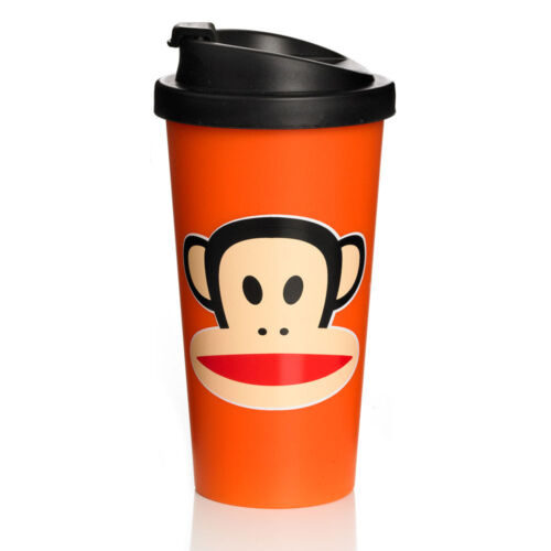 "Paul Frank /""To Go/"" Travel Thermo Cup Orange 20101004"