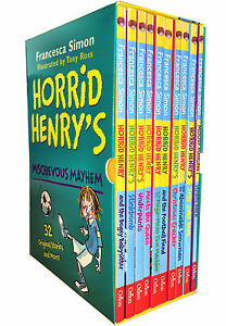 Horrid-Henry-039-s-Mischievous-Mayhem-Collection-10-Books-Box-Set-Children-Books