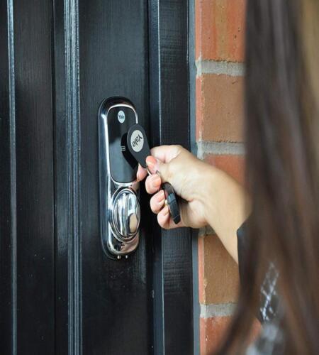 Yale Smart Door Lock Key Tag White