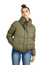 e1b5078bd Ladies Jacket Brave Soul Womens Coat Padded Quilted Bomber Funnel ...