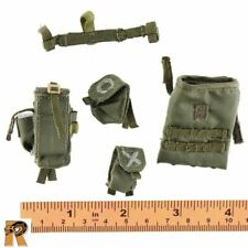 Israeli Sayeret Matkal 1//6 Scale Flagset Action Figures Black Boot Covers