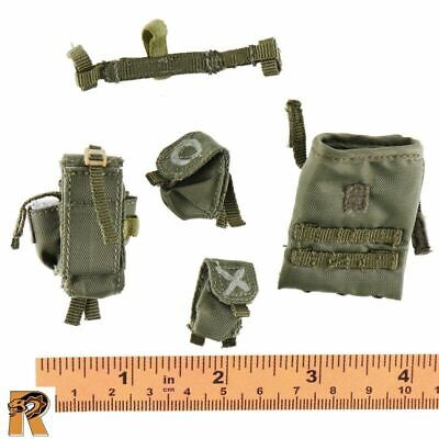 Israeli Sayeret Matkal 1//6 Scale Flagset Action Figures Glowsticks /& Pouch