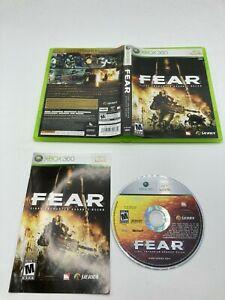Microsoft Xbox 360 CIB COMPLETE Tested F.E.A.R.: First Encounter Assault Recon